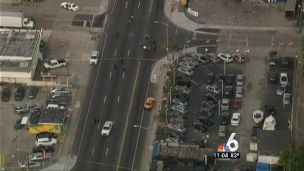 [MI] TEAM COVERAGE: 3 Shot After Suspect Steals Cop Car in NE Miami-Dade