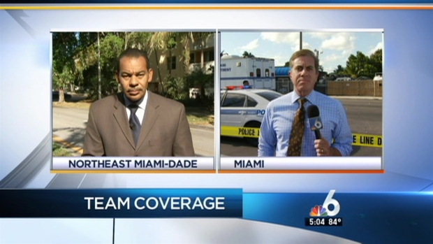 [MI] 3 Shot As Suspect Steals Police Car in Miami