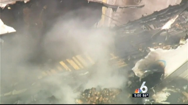[MI] 2 Killed in Fiery Tractor-Trailer Crash on Sawgrass Expressway