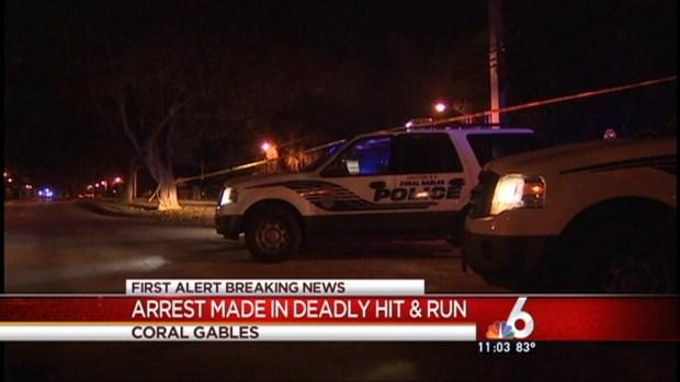 [MI] Coral Gables Hit & Run Arrest
