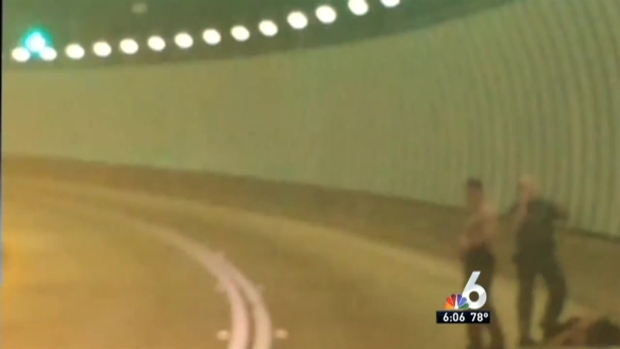 [MI] Man Stole Cop Car, Crashed in PortMiami Tunnel: Police