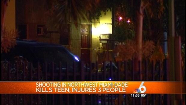 [MI] Teen Killed, 4 Hurt in Miami-Dade Shooting