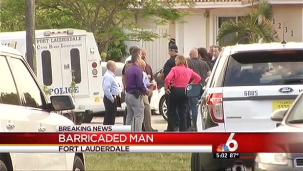 [MI] Barricaded Man in Fort Lauderdale