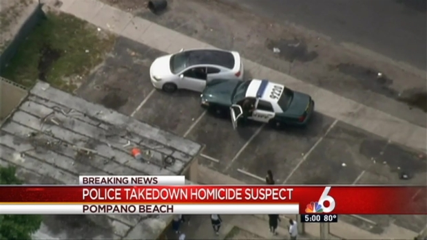 [MI] Police Chase Ends in Pompano Beach