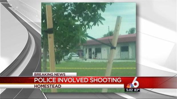 [MI] Officer-Involved Shooting in Homestead