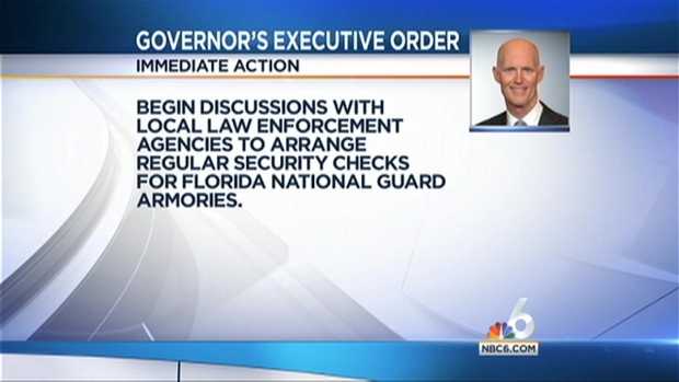 [MI] Governor Orders Florida National Guard Recruiters to Work from Armories