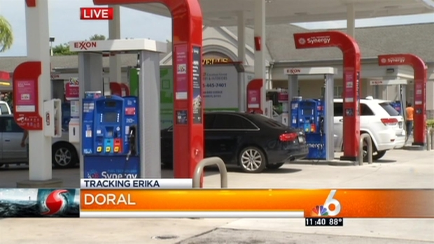 [MI] South Florida Gas Stations Prepare for Tropical Storm Erika