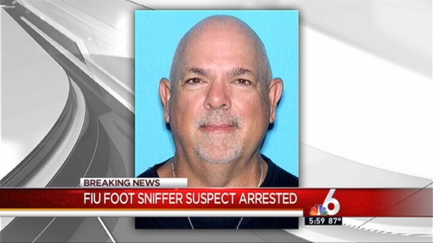 Alleged Fiu Foot-Sniffer Arrested - Nbc 6 South Florida-2009