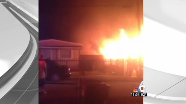 [MI] Woman in Custody After Explosion, Fire at Miami Home