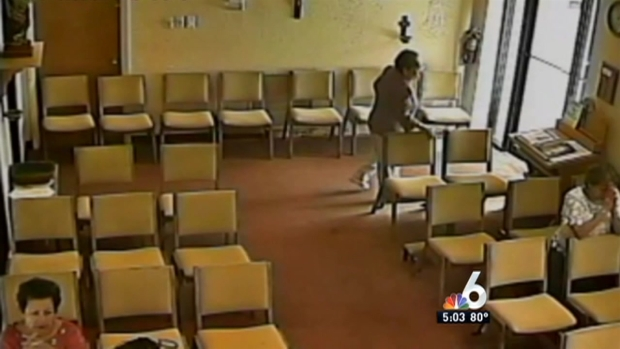 [MI] Suspect Snatches Elderly Woman's Purse in Church: BSO