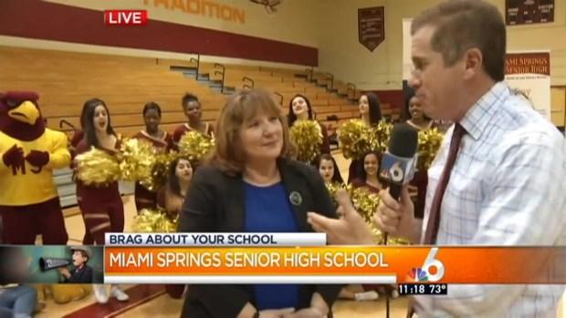 [MI] Brag About Miami Springs Senior High: Principal Smith