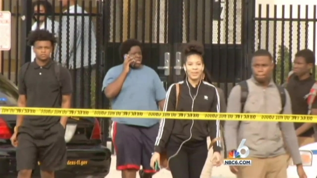 [MI] Suspect Named After Shots Fired Outside Miami Carol High