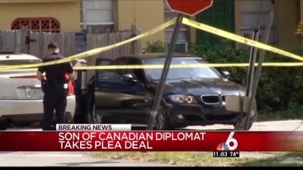 [MI] Son of Canadian Diplomat Takes Plea Deal
