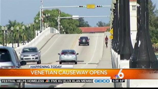 [MI] Venetian Causeway Reopens Monday