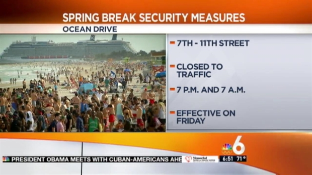 [MI] Heightened Spring Break Security in Miami Beach