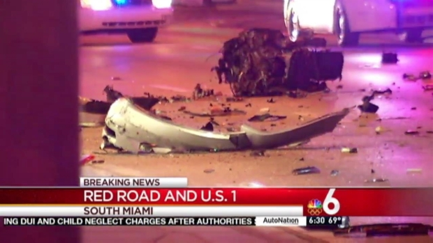 [MI] 2 Hurt in Serious Crash in South Miami