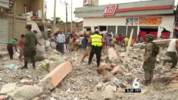 [MI] South Florida Donating to Ecuador Earthquake Relief