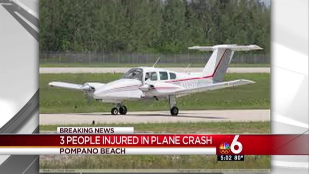 [MI] Small Plane Crashes Into Pompano Beach Neighborhood