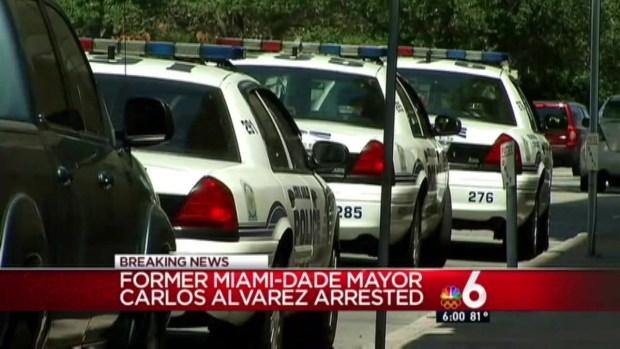 [MI] Ex-Miami-Dade Mayor Alvarez to Face Judge After Battery Arrest