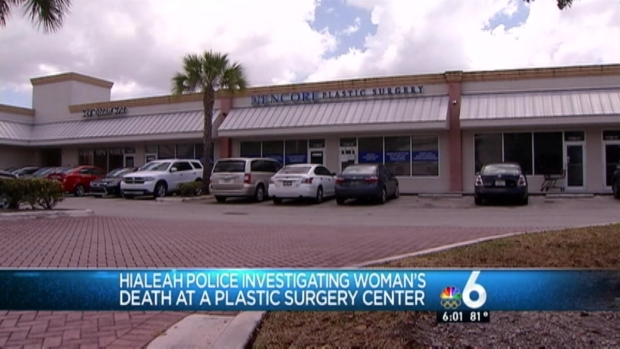 [MI] Woman Dies After Plastic Surgery Procedure at Hialeah Clinic: Police