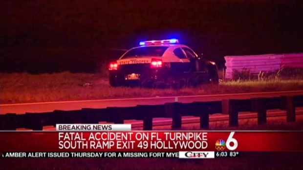 [MI] Fatal Crash on the Turnpike in Hollywood