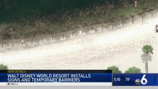 [MI] Disney Installing Signage, Barriers at Resort Beaches