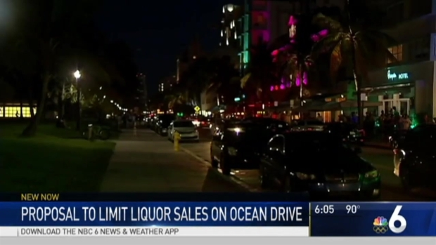 [MI] Miami Beach Mayor Pushes for 2 AM Alcohol Sale Limit on Ocean Drive