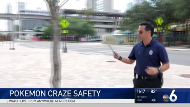 "[MI] Miami Police Make Video Encouraging Safety with ""Pokemon Go"" Craze"