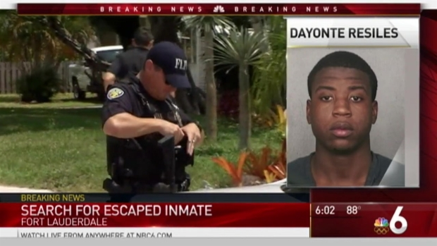 Search Continues For Inmate Who Escaped Broward County Courthouse
