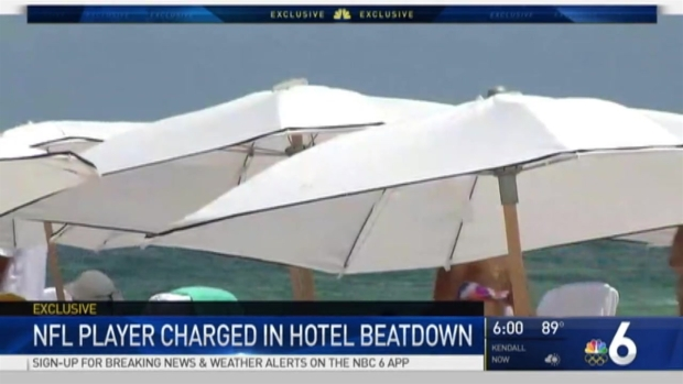[MI] NFL Player Accused of South Beach Assault