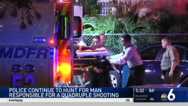 [MI] Police Search for Suspect in Miami-Dade Quadruple Shooting