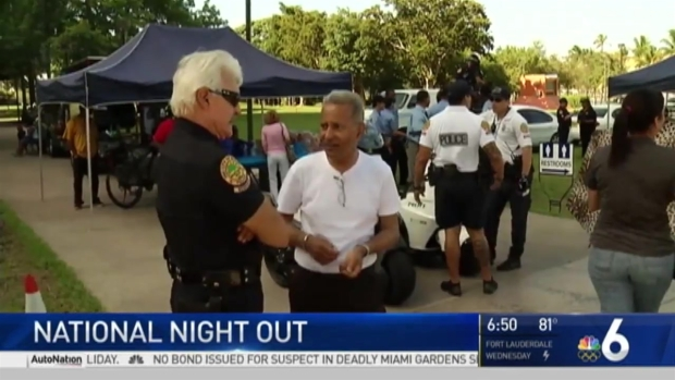 [MI] Local Police Departments Host Annual 'National Night Out' Across South Florida