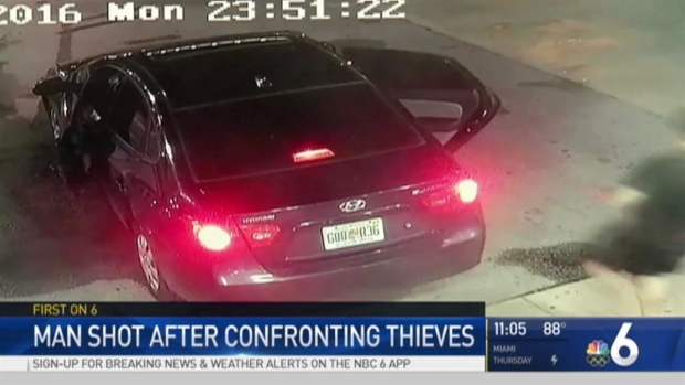[MI] Man Shot After Confrontation with Car Thieves