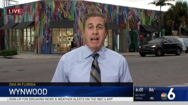 [MI] NBC 6 Team Coverage of Zika Outbreak in Miami-Dade, Broward