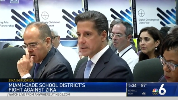 [MI] Miami-Dade Schools Dealing With Zika Issues