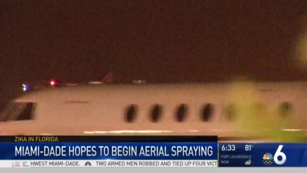 [MI] Flights Take Off to Spray Zika Areas in Miami Neighborhood
