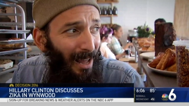 [MI] Hillary Clinton Visits Wynwood Clinic Amid Zika Fears