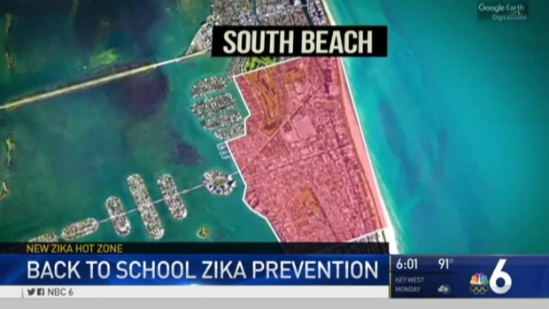 [MI] Lesson in Zika Protection for Miami Beach Students