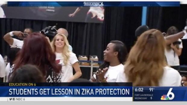 [MI] Miami-Dade Students Get Zika Lesson