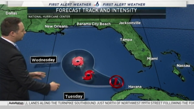 [MI] Tropical Depression Nine Could Bring Serious Downpours to South Florida