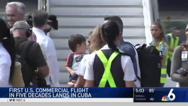 [MI] Historic Commercial Flights Between US and Cuba Begin