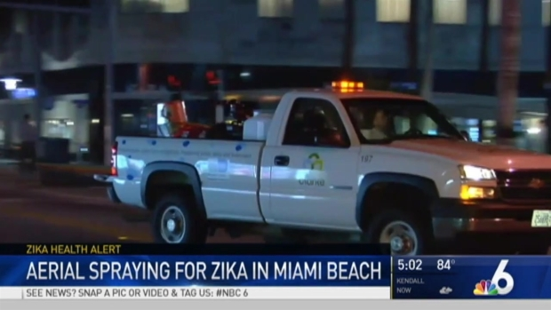 [MI] Aerial Spraying for Zika in Miami Beach