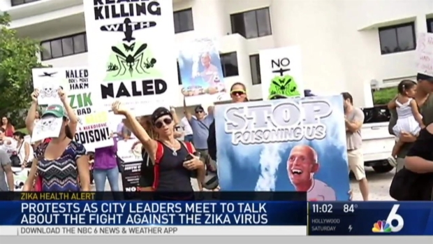 [MI] Protests Continue Over Zika Spraying Options on Miami Beach