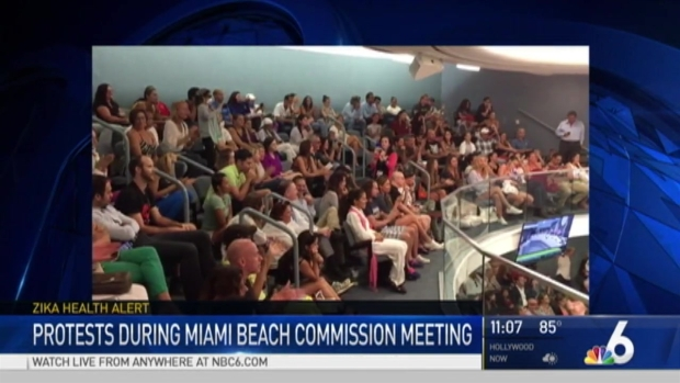[MI] Protests, Meetings Continue Over Zika Spraying on Miami Beach