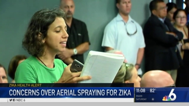 [MI] Controversy Over Zika Spraying in Miami Beach Continues
