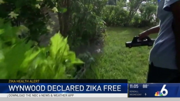 First US area with Zika declared virus free