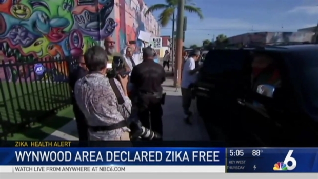 Miami's Wynwood district is no longer a Zika Virus transmission zone