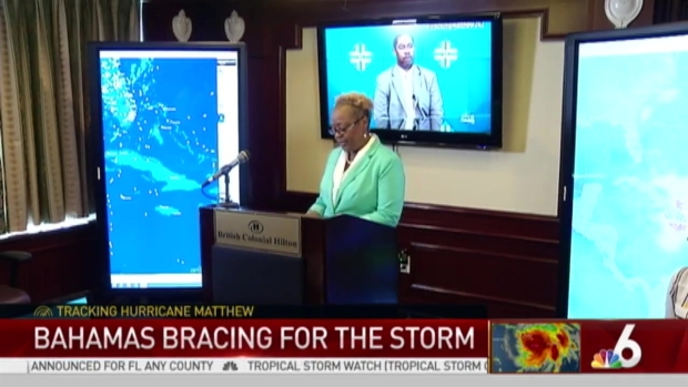 [MI] Bahamas Bracing for Hurricane Matthew
