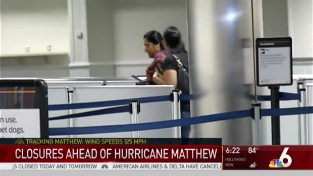 [MI] Places Across South Florida Closing For Hurricane Matthew