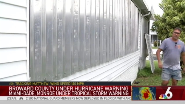 [MI] Mobile Home Owners Across South Florida Preparing for Matthew